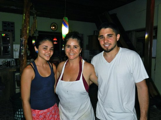 Cafe Coyote: Jenny and her crew, daughter and son