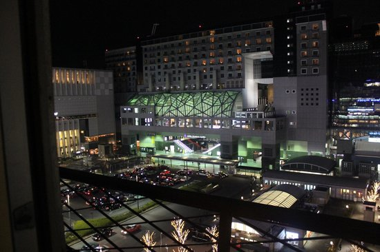 Kyoto Tower Hotel: View from room 915, facing the Kyoto Station