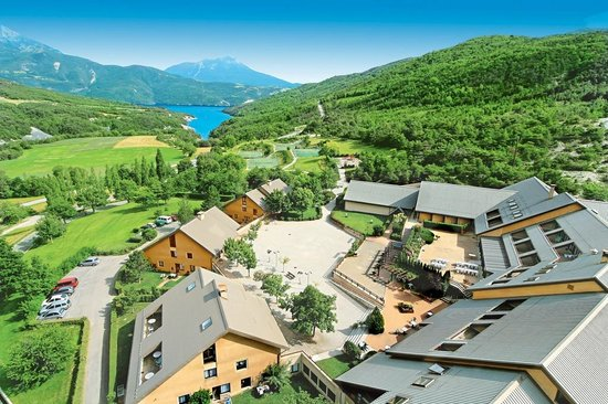 Club Serre-du-Villard: Vue aérienne du Club Serre du Villard