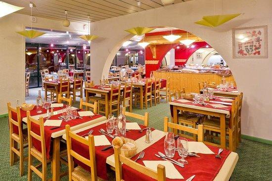 Club Serre-du-Villard : Restaurant