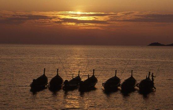 Karon View Point: tramonto