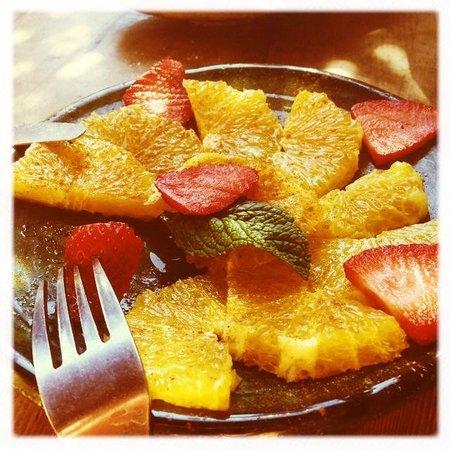 Cafe Des Epices: Orange salad
