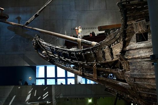 Vasa-Museum: Музей-корабль Васа