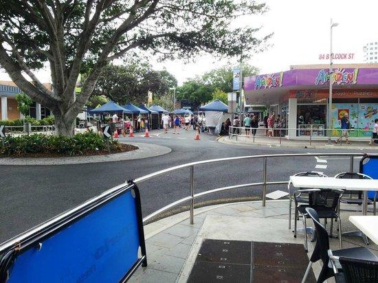 Breakfree Grand Pacific Resort Sunshine Coast: Street