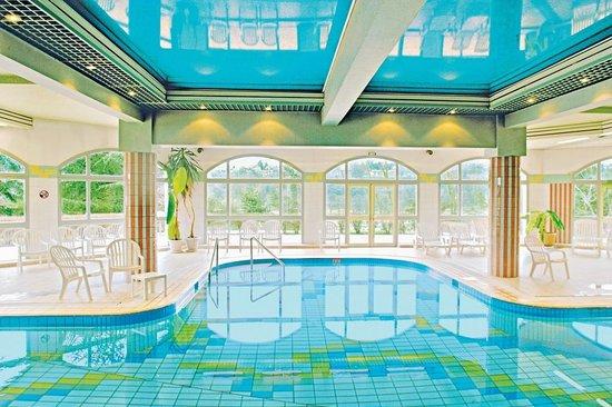 Piscine de la villa marlioz photo de h tel villa marlioz for Tarif piscine aix les bains