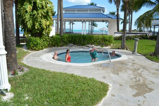 Hot Tub By Walk In Swimming Pool Perfect For Kids And Elderly Peole