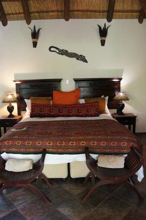 Lodge Afrique: Bett