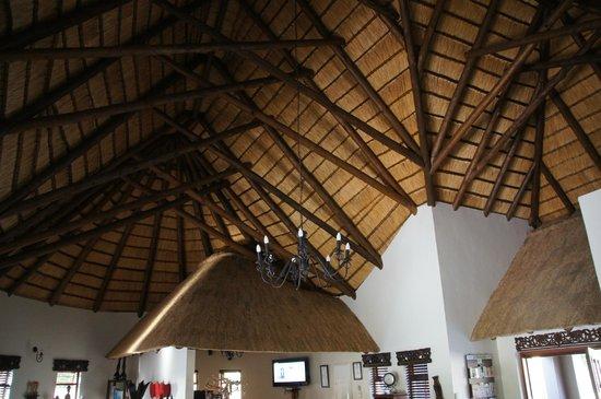 Lodge Afrique : Schöne Decke