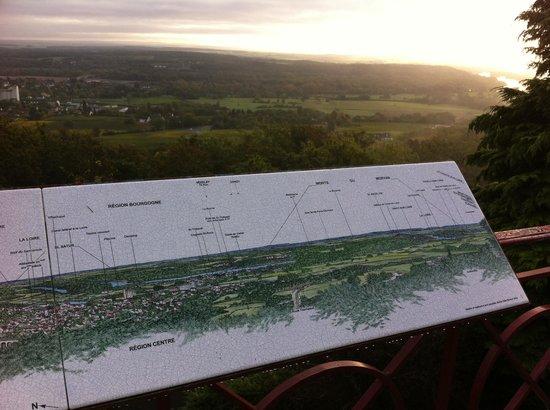 Vinitour Centre-Loire : In Sancerre, overzicht van het wijngebied
