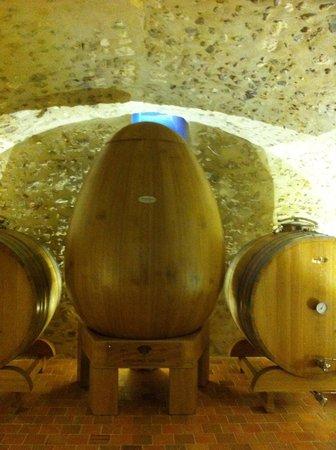 Vinitour Centre-Loire : Dit bijzondere houten 'ei' tgv het 50-jarig bestaan