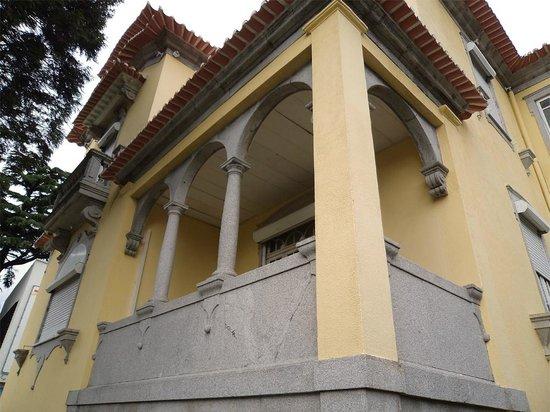 Hotel Porto Nobre: Varanda de suite