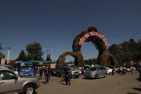 Dalat Flower Park: вход в парк