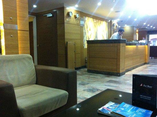 Sed Hotel: Reception