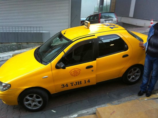 Sed Hotel: Taxi