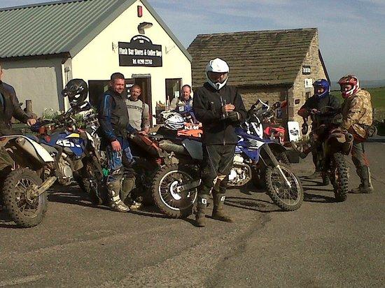 Flash Bar Stores: motorbike friendly