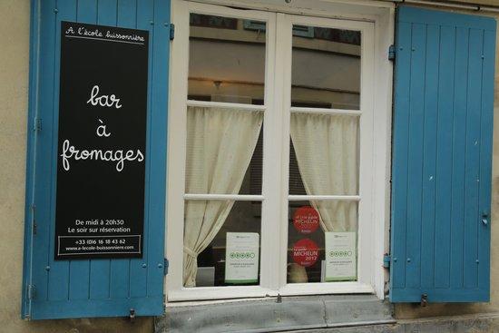 A l'ecole buissonniere : Вид с улицы