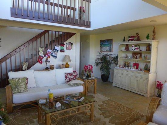 Tiki Wa Guest House & Coffee Plantation : Living room