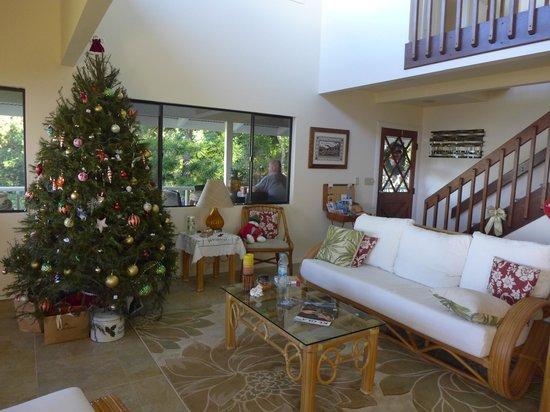 Tiki Wa Guest House & Coffee Plantation: Merry christmas!