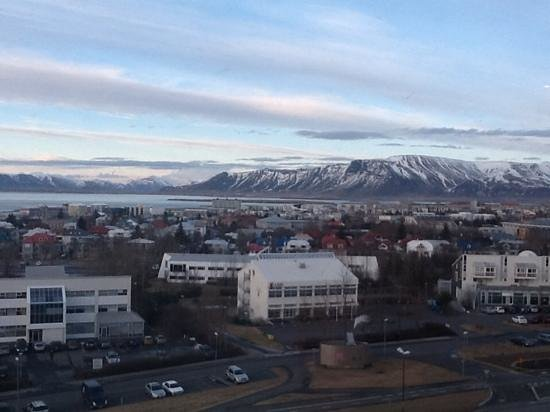 Hilton Reykjavik Nordica : View From My Room Window