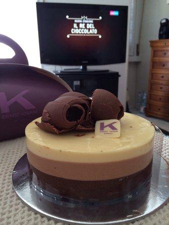 Pasticceria Ernst Knam: Mousse ai tre cioccolati