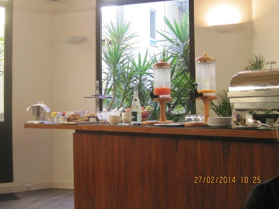 Hotel Colette: petit déjeuner