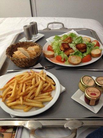 Hotel Colette: repas en chambre