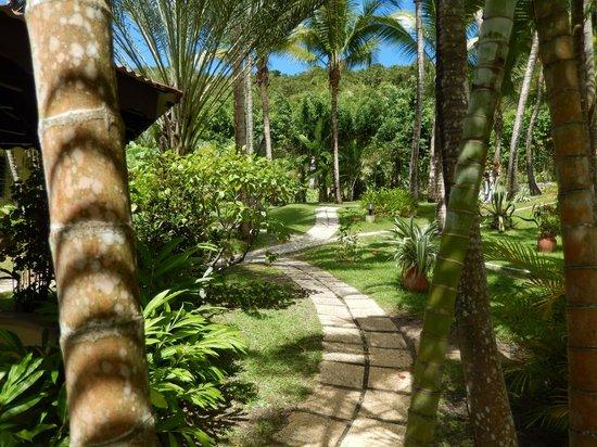 Habitation Grande Anse: giardini hotel