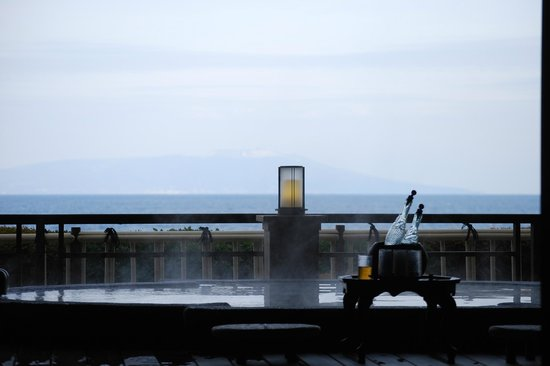 Izu Hokkawa Onsen Bousui : 貸切露天