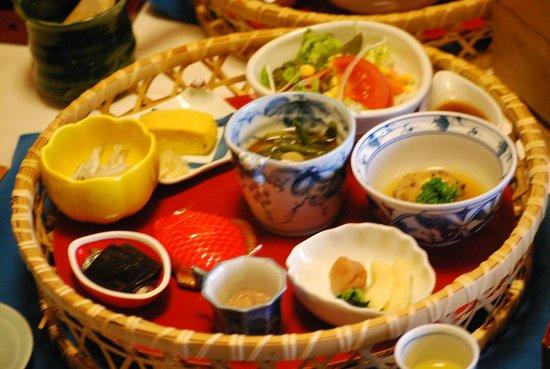 Izu Hokkawa Onsen Bousui : 朝食