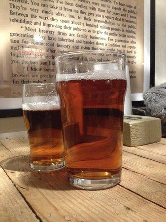 The Shakespeare Restaurant: Mmmm beer