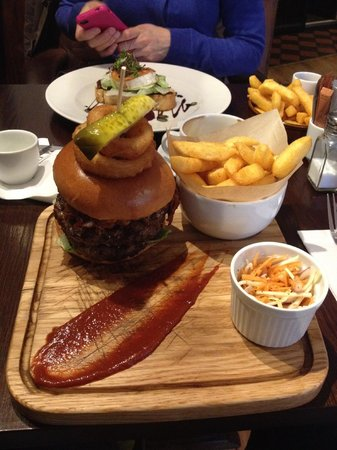 The Shakespeare Restaurant: The awesome Shylock Burger