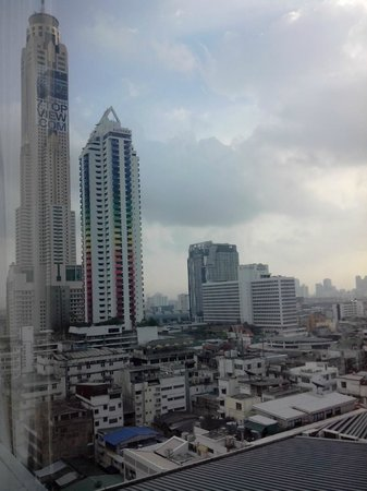 GLOW Pratunam : vue de la chambre