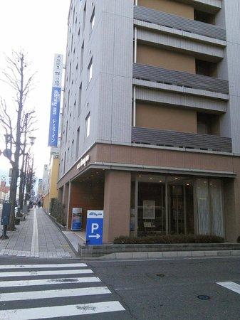 Dormy Inn Matsumoto: ホテル入口