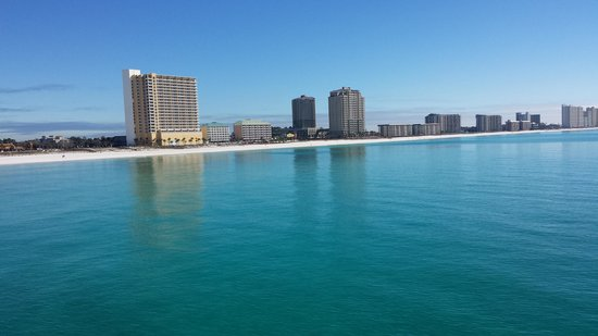 Beach Tower By The Sea : From the pier looking at beach tower