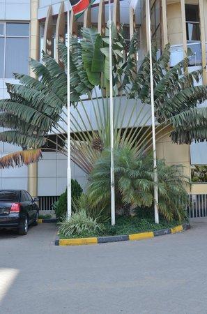 The Panari Hotel: Около отеля.