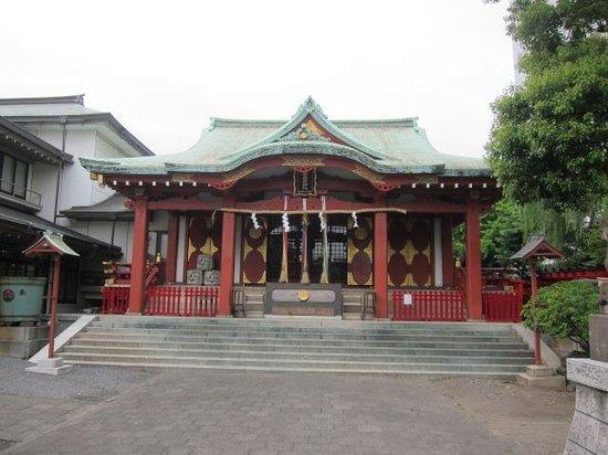Anamori Inari Shrine: 本堂