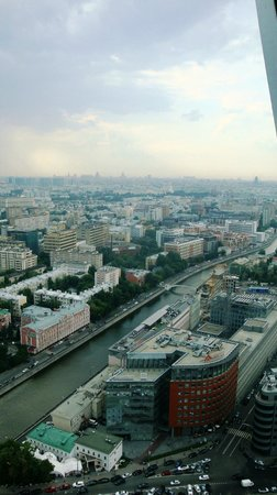 City Space Bar & Restaurant: Вид на Москву с 34 этажа
