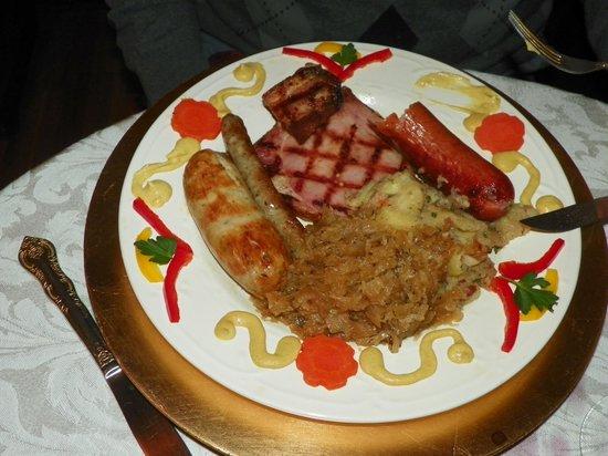 A Taste of Europe LLC: my meal