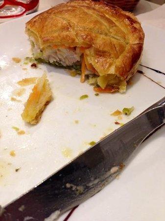 La Petite Auberge : un peu trop de croustillant ... filet de maigre et legumes