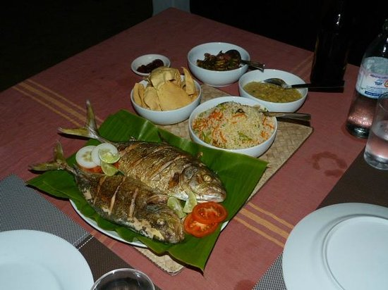 The Secret Guesthouse: Another tasty meal