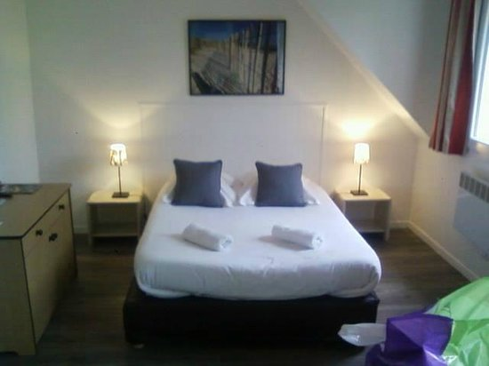 Hotel Residence Hippotel : le lit