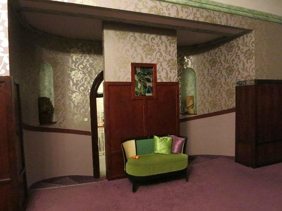 Hunguest Helios Hotel Anna: Переход в корпус Анна