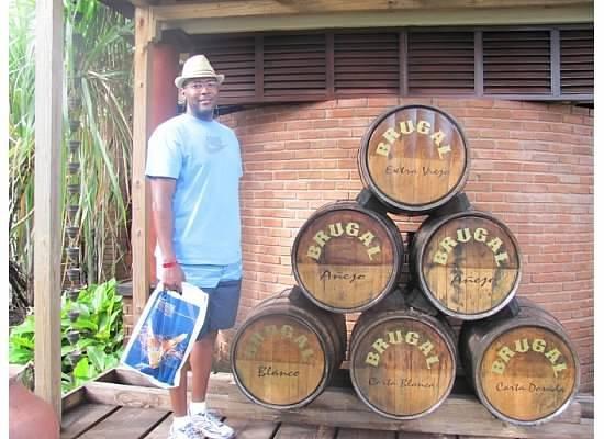 Fort San Felipe : Brugal rum factory