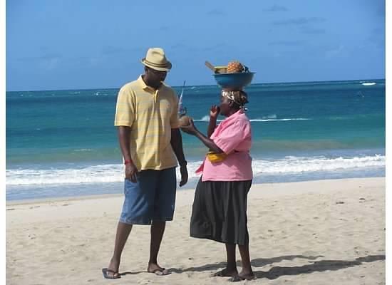 Cabarete Beach: Beach fruit