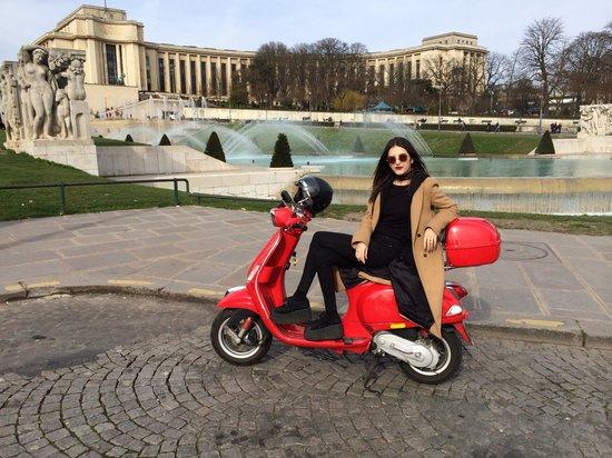 Left Bank Scooters: bonjour paris