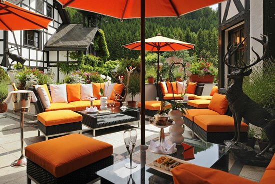 Relais & Chateaux Hotel Jagdhof Glashuette: Lounge