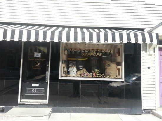 Pop's Coffee Shoppe: Pop's New Storefront, 55 E Main St., Lititz PA