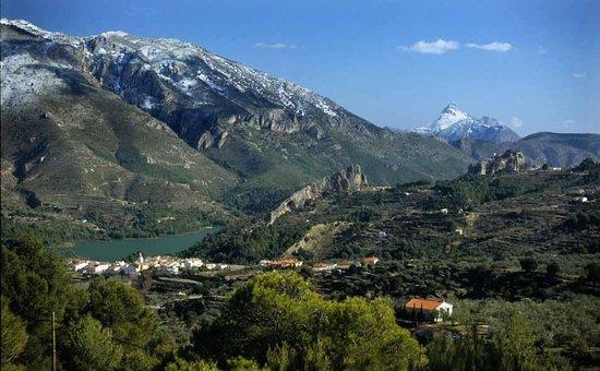 Cases Noves: El Castell de Guadalest
