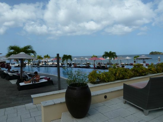 Buccament Bay Resort: Plenty of space to relax