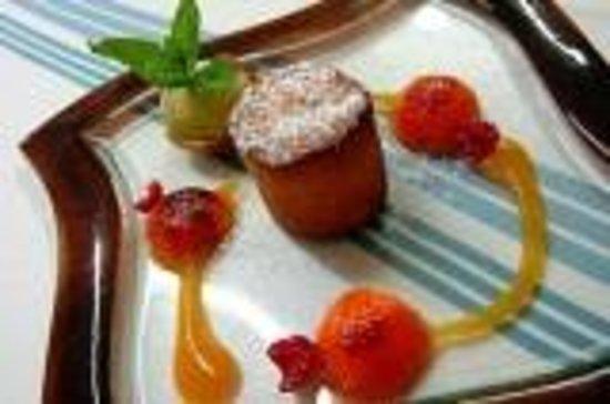 Chez Chilo Hotel : dessert à l'abricot